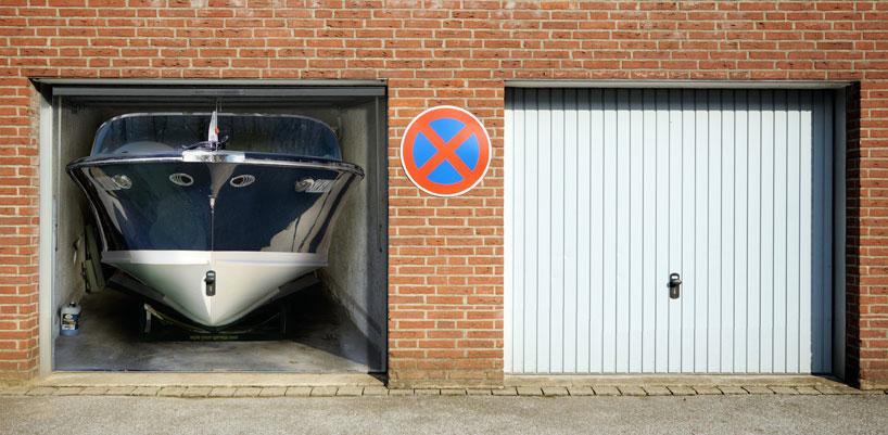 boat garage. Black Bedroom Furniture Sets. Home Design Ideas